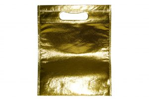 005. Non woven glossy goud (50 st.)