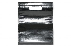 005. Non woven glossy zilver (50 st.)