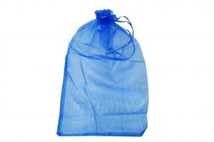 008. Organza packaging cobalt blue (50 pcs.)