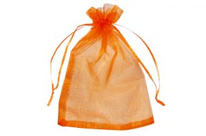 008. Organza packaging orange (50 pcs.)
