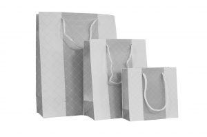 001. Verpakking duo ruit zilver (12 st.)