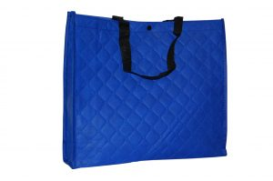 005. Non woven shopper blauw (10 st.)