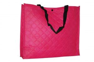 005. Non woven shopper roze (1 st.)