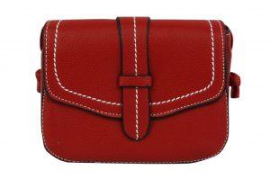 016. Dames tasje riem rood