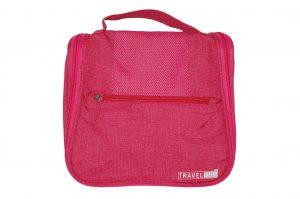 033. Travelbag roze (1 st.)