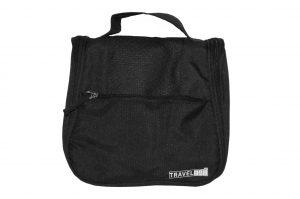 033. Travelbag zwart (1 st.)