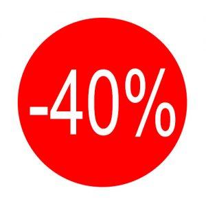050. Aufkleber -40%
