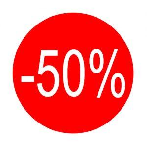 050. Stickers -50%