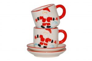 034. Christmas cups (set of 2 pcs.)