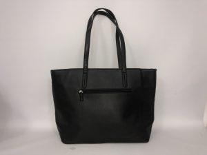 018. Handtas zwart/ zilver