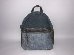 018. Rugzak stof blauw