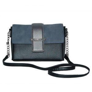 018. Crossbodybag blauw