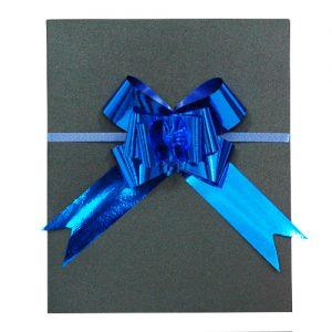 019. Strik glans blauw