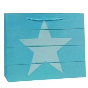 001. Verpakking ster blauw