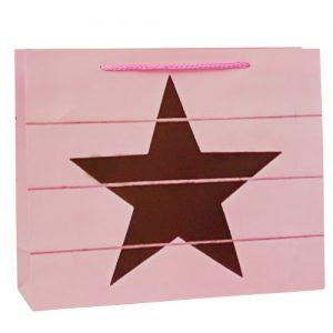 001. Verpakking ster roze