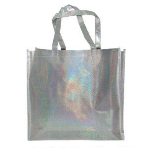 005. Non woven shopper zilver (10 st.)