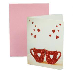 024. Geschenkkaartje hart met envelop 1