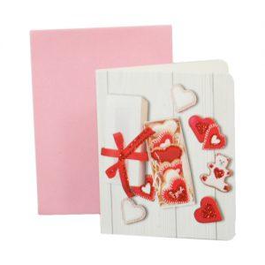 024. Geschenkkaartje hart met envelop 12