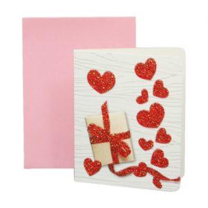 024. Geschenkkaartje hart met envelop 2