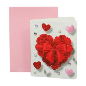 024. Geschenkkaartje hart met envelop 3