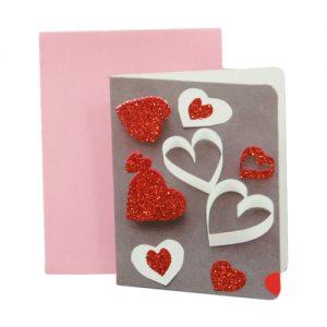 024. Geschenkkaartje hart met envelop 4