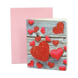 024. Geschenkkaartje hart met envelop 5