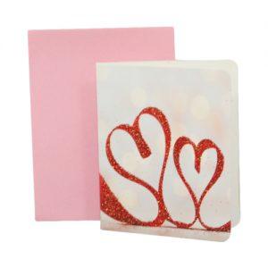 024. Geschenkkaartje hart met envelop 6