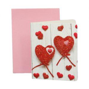 024. Geschenkkaartje hart met envelop 7