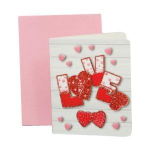 024. Geschenkkaartje hart met envelop 8