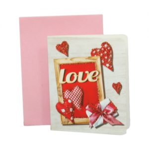 024. Geschenkkaartje hart met envelop 9