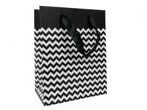 001. Packaging border black zigzag (12 pcs.)