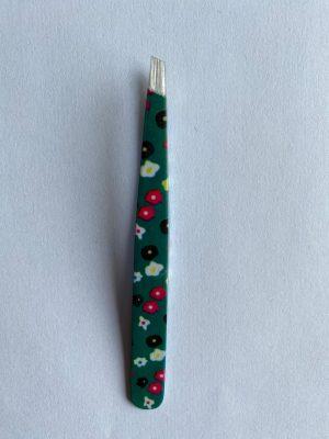 056. Tweezer groen bloem