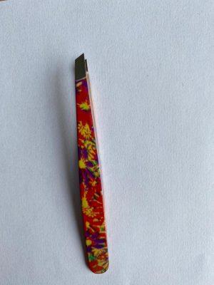 056. Tweezer oranje bloem