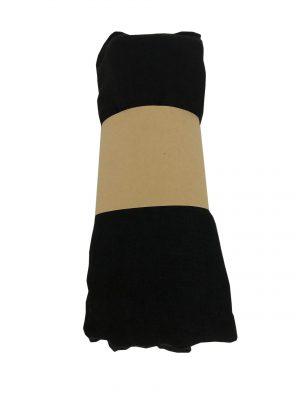 030. Sjaal uni zwart