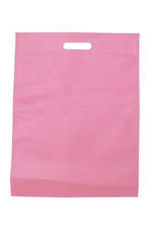 Non woven tas – Effen licht roze(50st.)