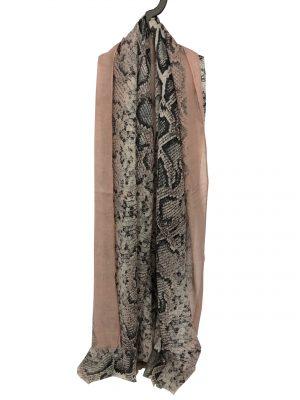 030. Scarf snake light pink