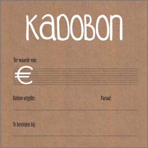 Kadobon – kadobon kraft